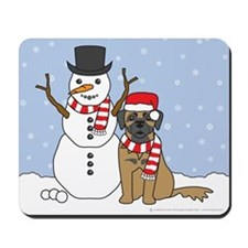 Leonberger Winter Mousepad