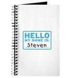 Hello My Name Is: Steven - Journal