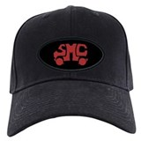 Red SMC Van Logo Baseball Cap