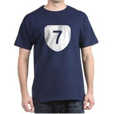 State Route 7, Virginia T-Shirt