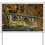 Big Sur Bridge 2 Yard Sign