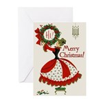 Vintage Christmas Cards (Pkg of 10)