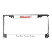 Relentless. Forward. Motion. License Plate Frame
