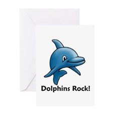 Dolphins Rock! Greeting Card