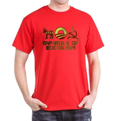 Symbols of Socialism Dark T-Shirt