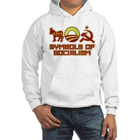 Symbols of Socialism Hooded Sweatshirt