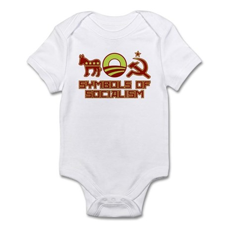 Symbols of Socialism Infant Bodysuit