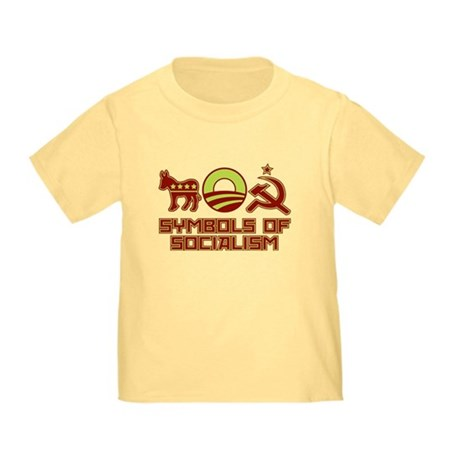 Symbols of Socialism Toddler T-Shirt
