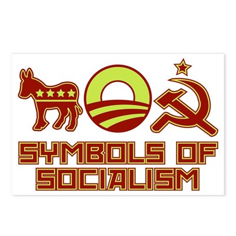 Symbols of Socialism Postcards (Package of 8)