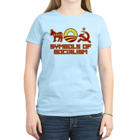Symbols of Socialism Women's Light T-Shirt