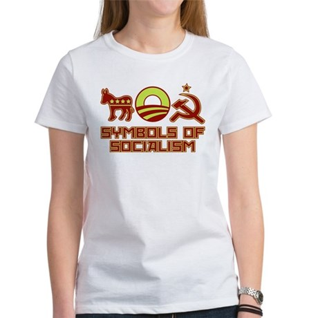 Symbols of Socialism Women's T-Shirt
