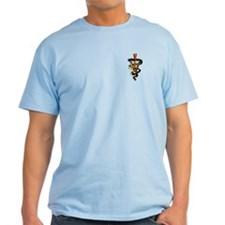 Veterinary Caduceus Ash Grey T-Shirt