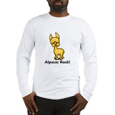 Alpacas Rock! Long Sleeve T-Shirt