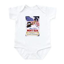 Colors Won't Run Patriot Infant Bodysuit