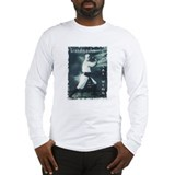 Funny White crane Long Sleeve T-Shirt