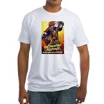 Fighting Filipinos Military Soldier Fitted T-Shirt