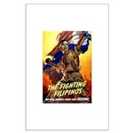 Fighting Filipinos Military Soldier Large Poster
