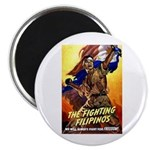 Fighting Filipinos Military Soldier Magnet