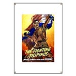 Fighting Filipinos Military Soldier Banner