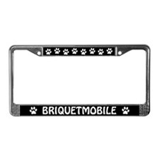 Briquetmobile License Plate Frame