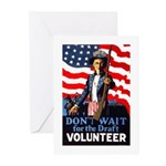 Don't Wait to Volunteer Greeting Cards (Pk of 10)