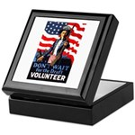 Don't Wait to Volunteer Keepsake Box