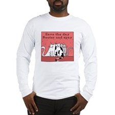 Cat Spay and Neuter Long Sleeve T-Shirt
