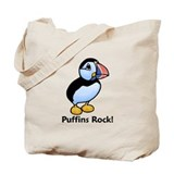 Puffins Rock! Tote Bag