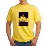 VA Veterans Administration Nurses (Front) Yellow T