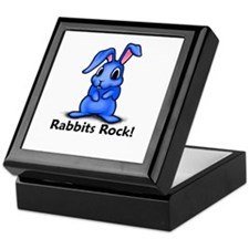 Rabbits Rock! Keepsake Box