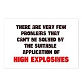 High Explosive Solution Postcards (Package of 8)