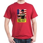Free Labor Will Win (Front) Dark T-Shirt