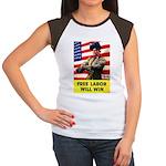 Free Labor Will Win Women's Cap Sleeve T-Shirt