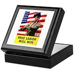 Free Labor Will Win Keepsake Box