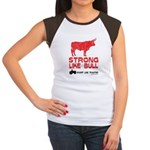 Strong Like Bull! Women's Cap Sleeve T-Shirt