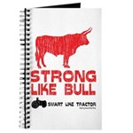 Strong Like Bull! Journal