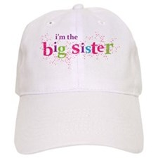 i'm the big sister shirt scatter Baseball Cap
