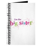 i'm the big sister shirt scatter Journal
