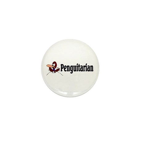 Penguitarian Penguin Mini Button (10 pack)