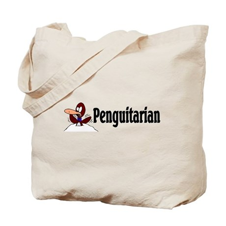 Penguitarian Penguin Tote Bag