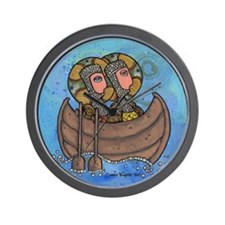 Sailing Saints Wall Clock