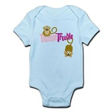 Double Trouble Monkeys Infant Bodysuit