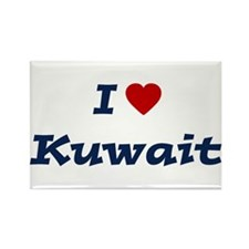 I HEART KUWAIT Rectangle Magnet