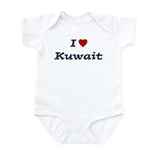 I HEART KUWAIT Infant Bodysuit