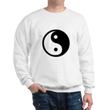 Black and White Yin Yang Bala Sweater