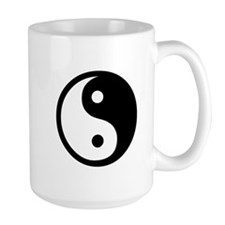Black and White Yin Yang Bala Mug