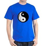 Black and White Yin Yang Bala T-Shirt