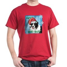 Holiday Border Collie T-Shirt