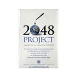 2048 PROJECT Rectangle Magnet (10 pack)