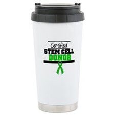 Cert. Stem Cell Donor Ceramic Travel Mug